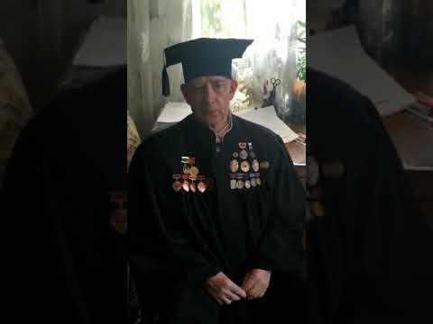 Поздравление Яндыганова Якова Яныбаевича с 75-летием Победы
