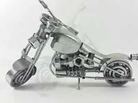Download Video Woww Kreatifitas Cara Membuat Miniatur Motor Dari Barang Bekas