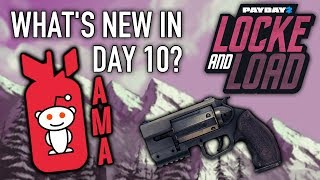 What's new in Day 10 of Locke & Load? [PAYDAY 2]