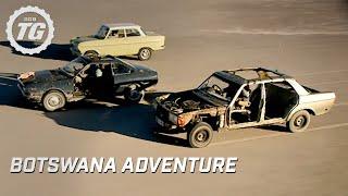Botswana Adventure Part 1 - Top Gear - BBC width=