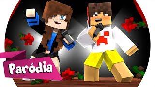 Minecraft: PARÓDIA - TÔ APAIXONADO NESSA MINA (MC KEVINHO) - TÔ CANSADA DE JOGAR SOZINHA (c/ Cronos)