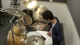 15-Year-Old Drummer Shion - Drum Solo