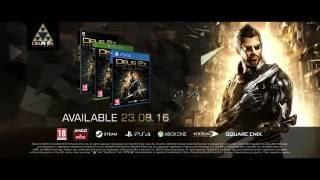 "[FAN-MADE] Deus Ex: Mankind Divided - ""Embrace"" TV Spot [HD]"