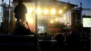 "David Crowder performing ""I saw the Light"" Creation Fest NE 2012"