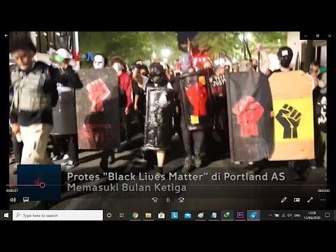 Protes `Black Lives Matter` di Portland AS Memasuki Bula Ketiga