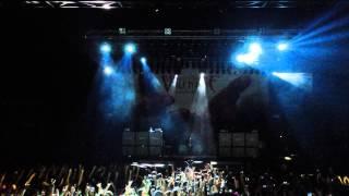 Bullet For My Valentine Live Intro (Raising Hell) @013 Tilburg 7 feb 2014