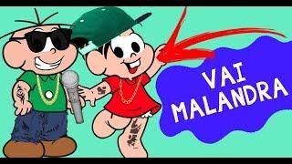 Turma da Mônica cantando Vai Malandra / Paradinha e outras de Anitta