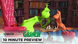 Illumination's The Grinch | 10 Minute Preview | Film Clip | Own it now on 4K, Blu-ray, DVD & Digital