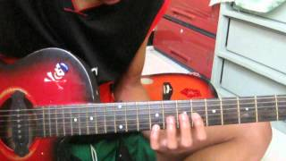 back to me by cueshe guitar solo  upload by dams
