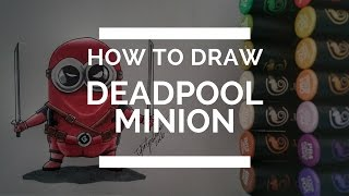 "DRAWING ""Deadpool Minion"""