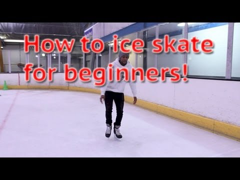 How To Ice Skate And Glide For Beginners - Skating 101 For The First Time Learn To Skate Tutorial