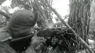 Combat footage, Korean war - newsreel (1950)