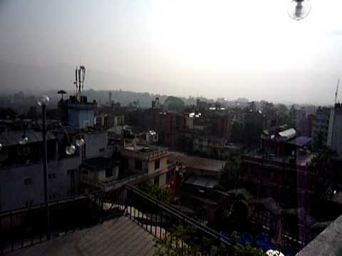 View from Our Hotel Rooftop in Thamel