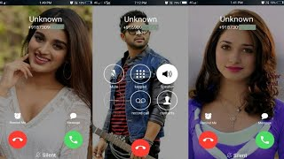 How to change incoming outgoing calling screen best caller