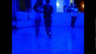 Samuel Paula, Graciele Carvalho e Bruna Bianca dançando zouk.wmv