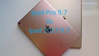 2017 IPad 9.7 vs IPad Pro 9.7 ( Is It Worth The Extra $270 ? )