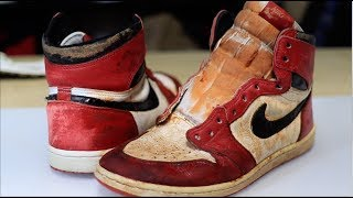 Miles Morales Original 1985 Jordan 1 Chicago Fully Restored!