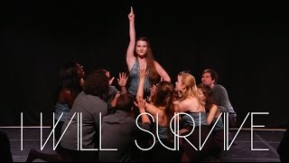 'I Will Survive' by DU Northern Lights   A Cappella cover   Edinburgh Fringe 2016
