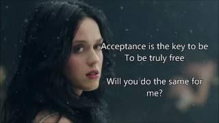 Katy Perry - Unconditionally   Lyrics
