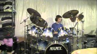 Hooch-Melvins Drum Cover