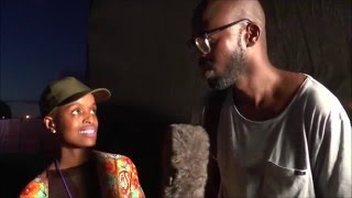 Speaking to Black coffee