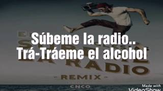 SUBEME LA RADIO REMIX - Enrique Iglesias ft. CNCO (Lyric Video)