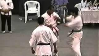 SHOTOKAN vs KYOKUSHIN karate KO