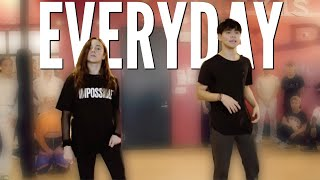 Sean Lew and Kaycee Rice - EVERYDAY - Elijah Blake | Choreography by Alexander Chung