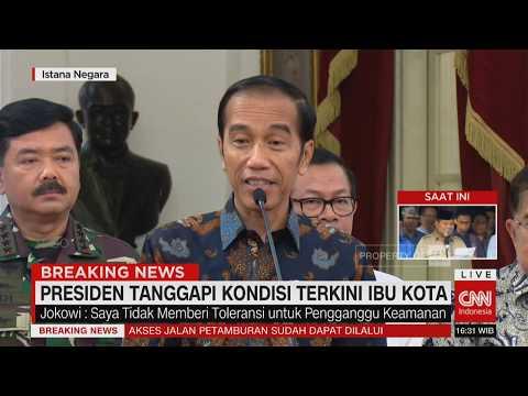 Download Video Presiden Jokowi Tanggapi Kondisi Terkini Ibu Kota