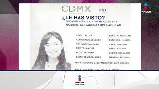 Alerta Amber por menor desaparecida en Coyoacán | Noticias con Yuriria SIerra