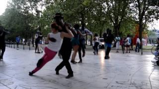 Kizomba Na Rua Paris 17/07/2016 - Eduardo Paim Esse Madie