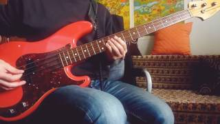 Kings of Leon - Wild [TABS](bass cover)🎸