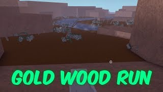 How to get gold wood and zombie wood in lumber tycoon 2