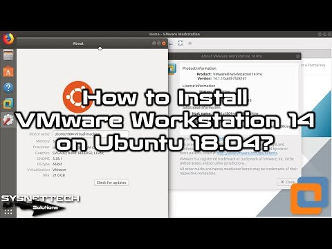 VMware 14 Installation Video
