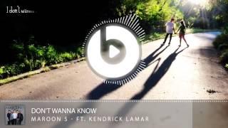 (Lyric Video) Don't Wanna Know - Maroon 5 ft. Kendrick Lamar
