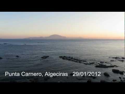 Atardecer en Punta Carnero, Algeciras (Cachitos de Vida)