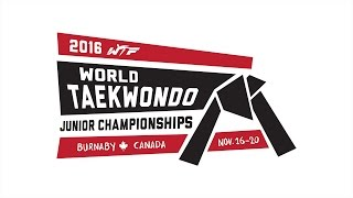 2016 World Taekwondo Junior Championships - Day 3 (Semi-finals, Finals, Award Ceremonies)