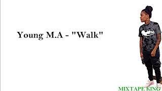 "YoungMa ""walk"" Lyrics On Screen"