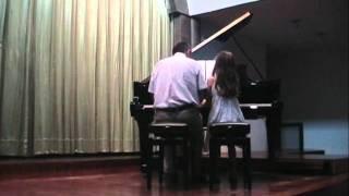 Dança dos Patinhos / Passarinhos a bailar (Werner Thomas) - Audição Piano 2011