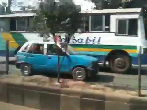 Driving in Dhaka, Bangladesh