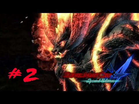 Devil May Cry 4 Special Edition - O Primeiro Boss!! - (Gameplay/Ps4)