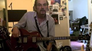"""Prescott Niles .. Bass player for The Knack talks about the  Guild Bass he Cut """"My Sharona"""" with"""