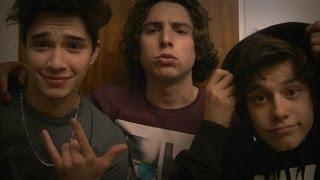 Julian Serrano con Agu Bernasconi y Maxi Espindola ! :D