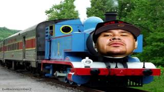 Thomas the Tank Train vs Fat Joe Lean Back