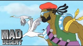 Major Lazer - 'Get Free' feat. Amber (of Dirty Projectors) OFFICIAL LYRIC VIDEO + HQ AUDIO width=