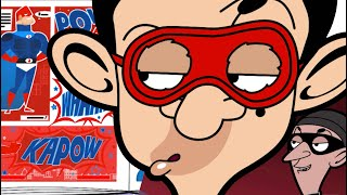 HERO Bean | (Mr Bean Cartoon) | Mr Bean Full Episodes | Mr Bean Official