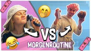 Morgenroutine Boys VS Girls Rollentausch   MaVie Noelle
