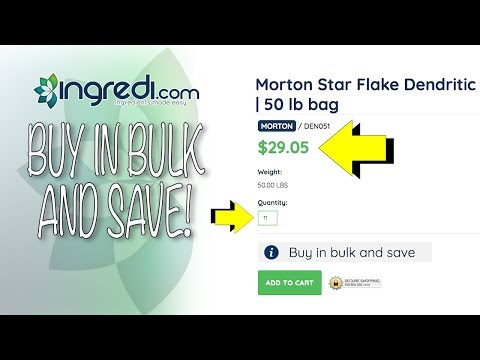 Buy in Bulk and save video