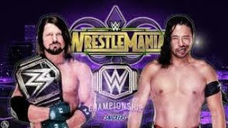 AJ STYLES VS SHISUKE NAKAMURA WRESTLEMANIA 34 WWE CHAMPHIONSHIP PROMO