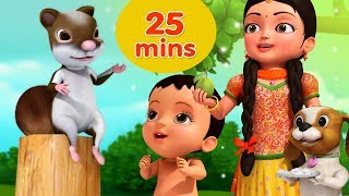 Kathbirali Squirrel Rhyme And Many More Bengali Rhymes For Children Collection   Infobells